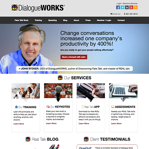 DialogueWORKS Homepage